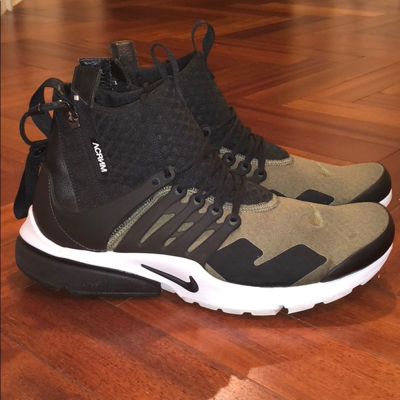 newest attractive price vast selection Nike Air Presto Acronym Olive